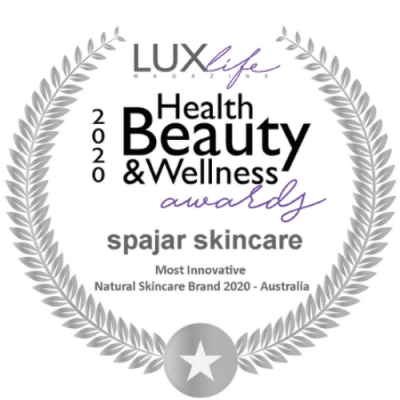 spajar most innovative natural skincare brand Australia 2020